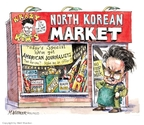 Cartoonist Matt Wuerker  Matt Wuerker's Editorial Cartoons 2009-06-11 Kim