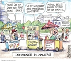Cartoonist Matt Wuerker  Matt Wuerker's Editorial Cartoons 2009-07-13 newspaper