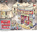 Cartoonist Matt Wuerker  Matt Wuerker's Editorial Cartoons 2009-08-04 newspaper