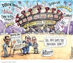 Cartoonist Matt Wuerker  Matt Wuerker's Editorial Cartoons 2009-09-09 euthanasia