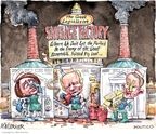 Cartoonist Matt Wuerker  Matt Wuerker's Editorial Cartoons 2009-12-17 enemy
