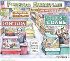 Cartoonist Matt Wuerker  Matt Wuerker's Editorial Cartoons 2010-03-16 finance