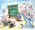 Cartoonist Matt Wuerker  Matt Wuerker's Editorial Cartoons 2010-04-13 democratic party