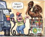 Cartoonist Matt Wuerker  Matt Wuerker's Editorial Cartoons 2010-06-14 animal