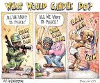 Cartoonist Matt Wuerker  Matt Wuerker's Editorial Cartoons 2010-06-16 Middle East