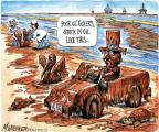 Cartoonist Matt Wuerker  Matt Wuerker's Editorial Cartoons 2010-06-28 animal