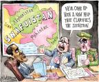 Cartoonist Matt Wuerker  Matt Wuerker's Editorial Cartoons 2010-07-29 Middle East