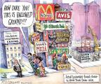 Cartoonist Matt Wuerker  Matt Wuerker's Editorial Cartoons 2010-08-17 honor