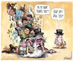 Cartoonist Matt Wuerker  Matt Wuerker's Editorial Cartoons 2010-12-21 Kim