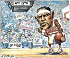 Cartoonist Matt Wuerker  Matt Wuerker's Editorial Cartoons 2011-06-17 basketball