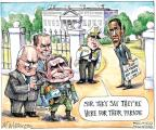 Cartoonist Matt Wuerker  Matt Wuerker's Editorial Cartoons 2011-12-22 Iraq war