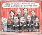 Cartoonist Matt Wuerker  Matt Wuerker's Editorial Cartoons 2012-02-09 supreme court judge