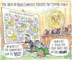 Cartoonist Matt Wuerker  Matt Wuerker's Editorial Cartoons 2012-02-24 George W. Bush congress