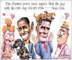 Cartoonist Matt Wuerker  Matt Wuerker's Editorial Cartoons 2012-02-28 dog