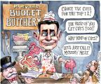 Cartoonist Matt Wuerker  Matt Wuerker's Editorial Cartoons 2012-04-06 meat