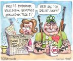 Cartoonist Matt Wuerker  Matt Wuerker's Editorial Cartoons 2012-04-12 news