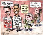 Cartoonist Matt Wuerker  Matt Wuerker's Editorial Cartoons 2012-11-06 George W. Bush