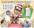 Cartoonist Matt Wuerker  Matt Wuerker's Editorial Cartoons 2012-12-24 Bush tax cut