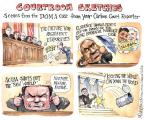 Cartoonist Matt Wuerker  Matt Wuerker's Editorial Cartoons 2013-04-01 supreme court judge