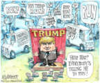 Cartoonist Matt Wuerker  Matt Wuerker's Editorial Cartoons 2013-08-14 television news