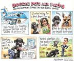 Cartoonist Matt Wuerker  Matt Wuerker's Editorial Cartoons 2013-08-25 dog