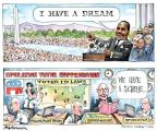 Cartoonist Matt Wuerker  Matt Wuerker's Editorial Cartoons 2013-08-27 election