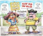 Cartoonist Matt Wuerker  Matt Wuerker's Editorial Cartoons 2013-09-18 defense policy