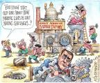Cartoonist Matt Wuerker  Matt Wuerker's Editorial Cartoons 2013-10-21 party