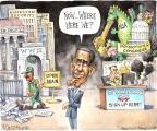 Cartoonist Matt Wuerker  Matt Wuerker's Editorial Cartoons 2013-10-22 World War II Memorial