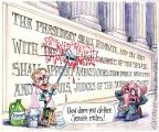 Cartoonist Matt Wuerker  Matt Wuerker's Editorial Cartoons 2013-11-25 supreme court judge