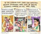Cartoonist Matt Wuerker  Matt Wuerker's Editorial Cartoons 2013-12-10 meat