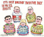 Cartoonist Matt Wuerker  Matt Wuerker's Editorial Cartoons 2013-12-20 christmas party