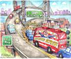 Cartoonist Matt Wuerker  Matt Wuerker's Editorial Cartoons 2014-01-10 transportation