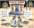 Cartoonist Matt Wuerker  Matt Wuerker's Editorial Cartoons 2014-02-18 graduation