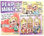 Cartoonist Matt Wuerker  Matt Wuerker's Editorial Cartoons 2014-06-16 get a life