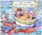 Cartoonist Matt Wuerker  Matt Wuerker's Editorial Cartoons 2014-06-17 hot
