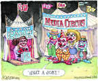 Cartoonist Matt Wuerker  Matt Wuerker's Editorial Cartoons 2014-07-29 television news