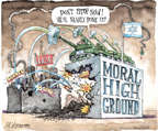 Cartoonist Matt Wuerker  Matt Wuerker's Editorial Cartoons 2014-08-05 moral