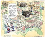 Cartoonist Matt Wuerker  Matt Wuerker's Editorial Cartoons 2014-10-03 Iowa
