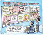 Cartoonist Matt Wuerker  Matt Wuerker's Editorial Cartoons 2014-10-06 Iraq war