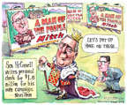 Cartoonist Matt Wuerker  Matt Wuerker's Editorial Cartoons 2014-10-28 item