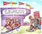 Cartoonist Matt Wuerker  Matt Wuerker's Editorial Cartoons 2014-12-19 name