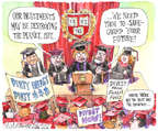 Cartoonist Matt Wuerker  Matt Wuerker's Editorial Cartoons 2015-04-21 profit