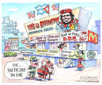 Cartoonist Matt Wuerker  Matt Wuerker's Editorial Cartoons 2015-05-18 dog