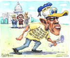 Cartoonist Matt Wuerker  Matt Wuerker's Editorial Cartoons 2015-06-15 global economy