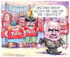 Cartoonist Matt Wuerker  Matt Wuerker's Editorial Cartoons 2015-07-20 McCain Palin