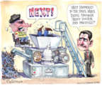Cartoonist Matt Wuerker  Matt Wuerker's Editorial Cartoons 2015-10-12 meat