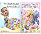 Cartoonist Matt Wuerker  Matt Wuerker's Editorial Cartoons 2015-12-17 Middle East