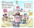 Cartoonist Matt Wuerker  Matt Wuerker's Editorial Cartoons 2016-02-18 supreme court judge