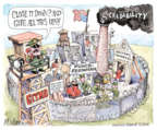 Cartoonist Matt Wuerker  Matt Wuerker's Editorial Cartoons 2016-02-24 safety